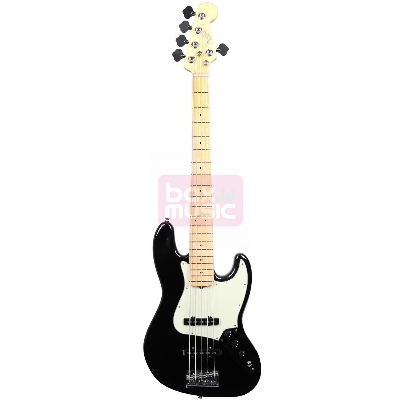 Fender American Professional Jazz Bass V Black MN