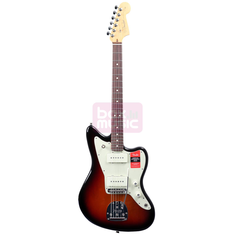 Fender American Professional Jazzmaster 3-Color Sunburst RW