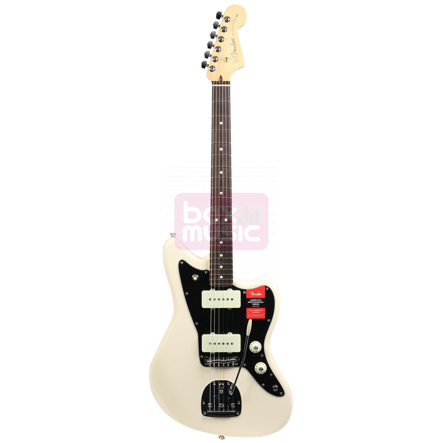Fender American Professional Jazzmaster Olympic White RW
