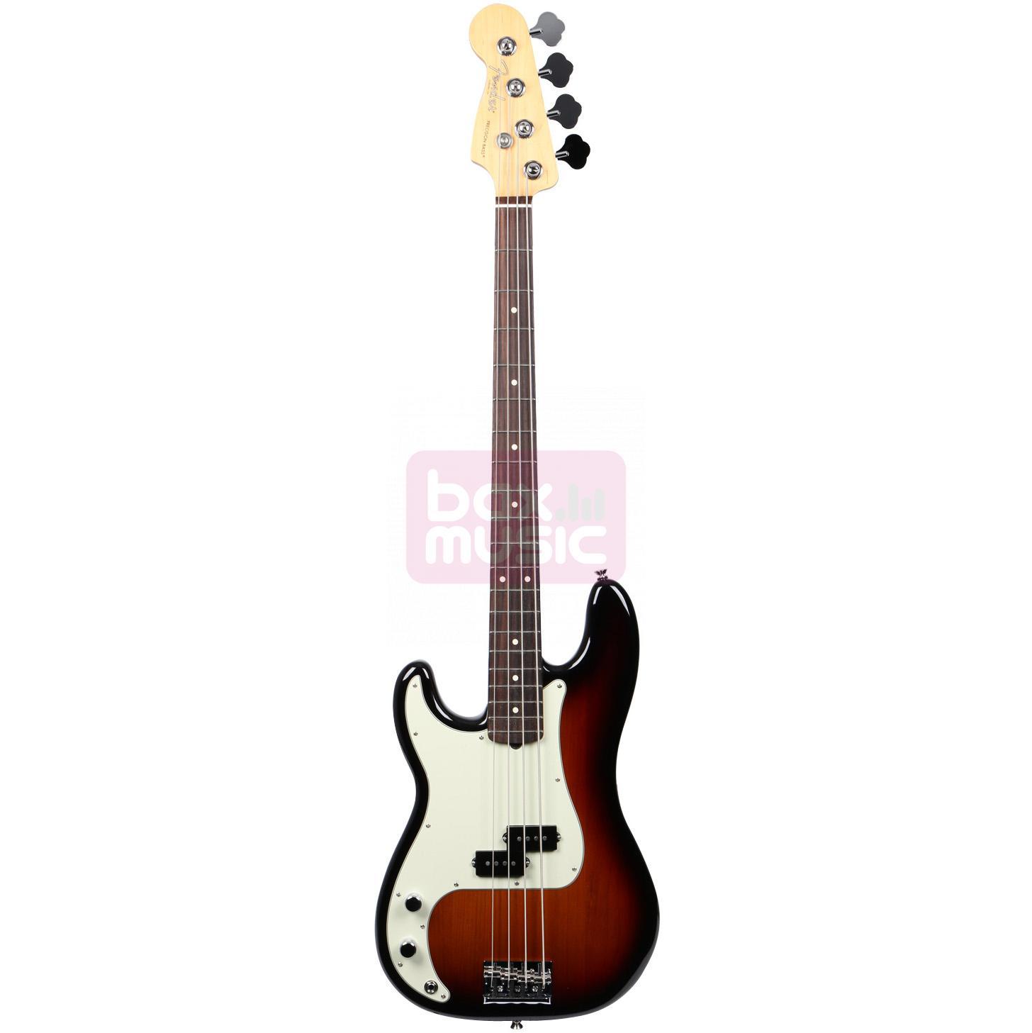 Fender American Professional Precision Bass LH Sunburst RW