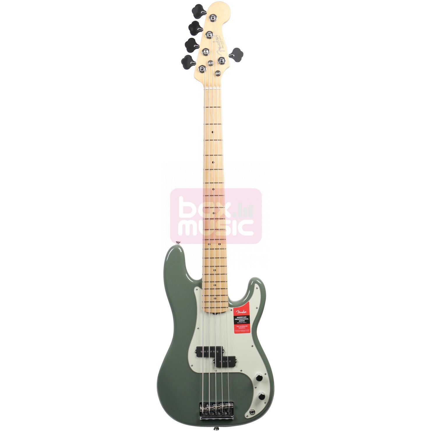Fender American Professional Precision V Antique Olive MN