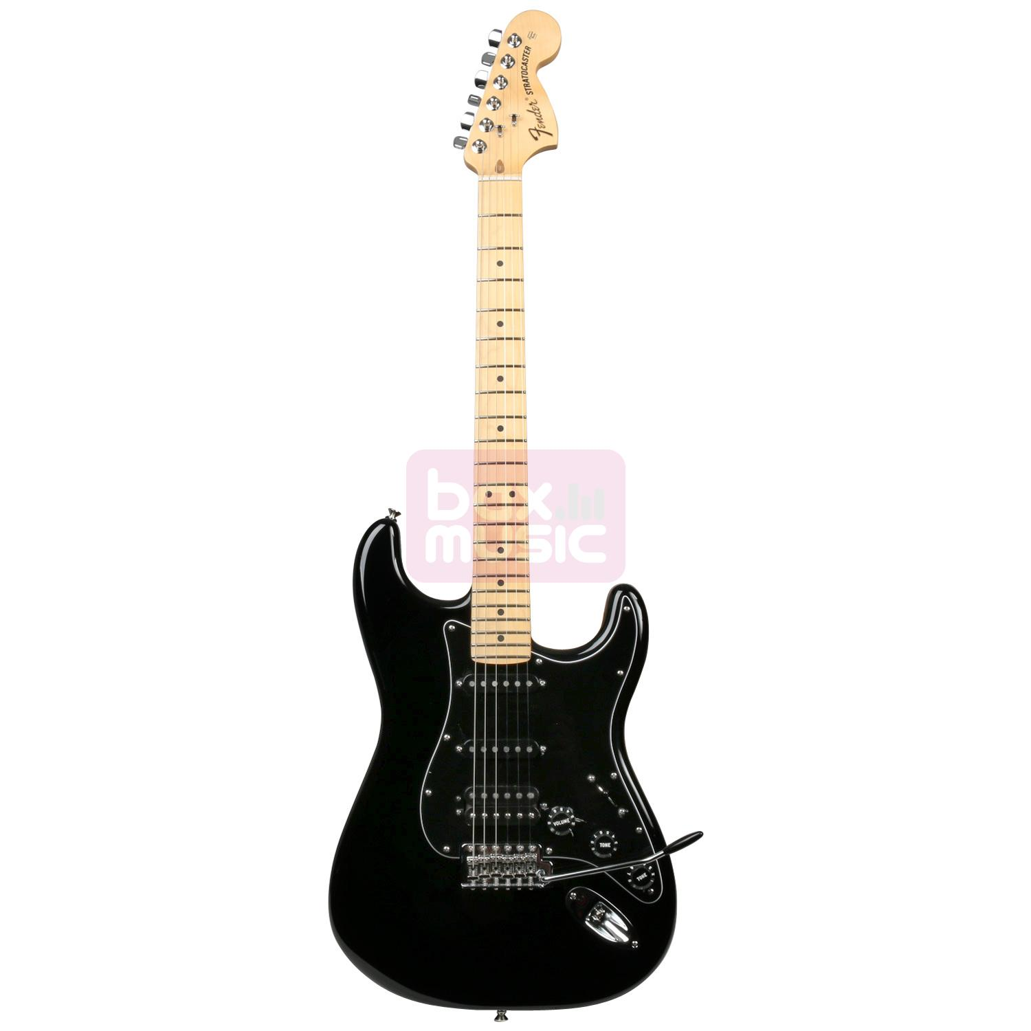 Fender American Special Stratocaster HSS MN BLK