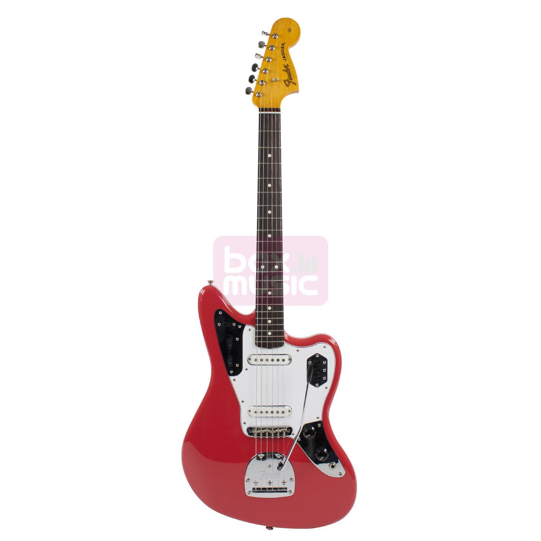 Fender Classic 60s Jaguar Lacquer Fiesta Red RW