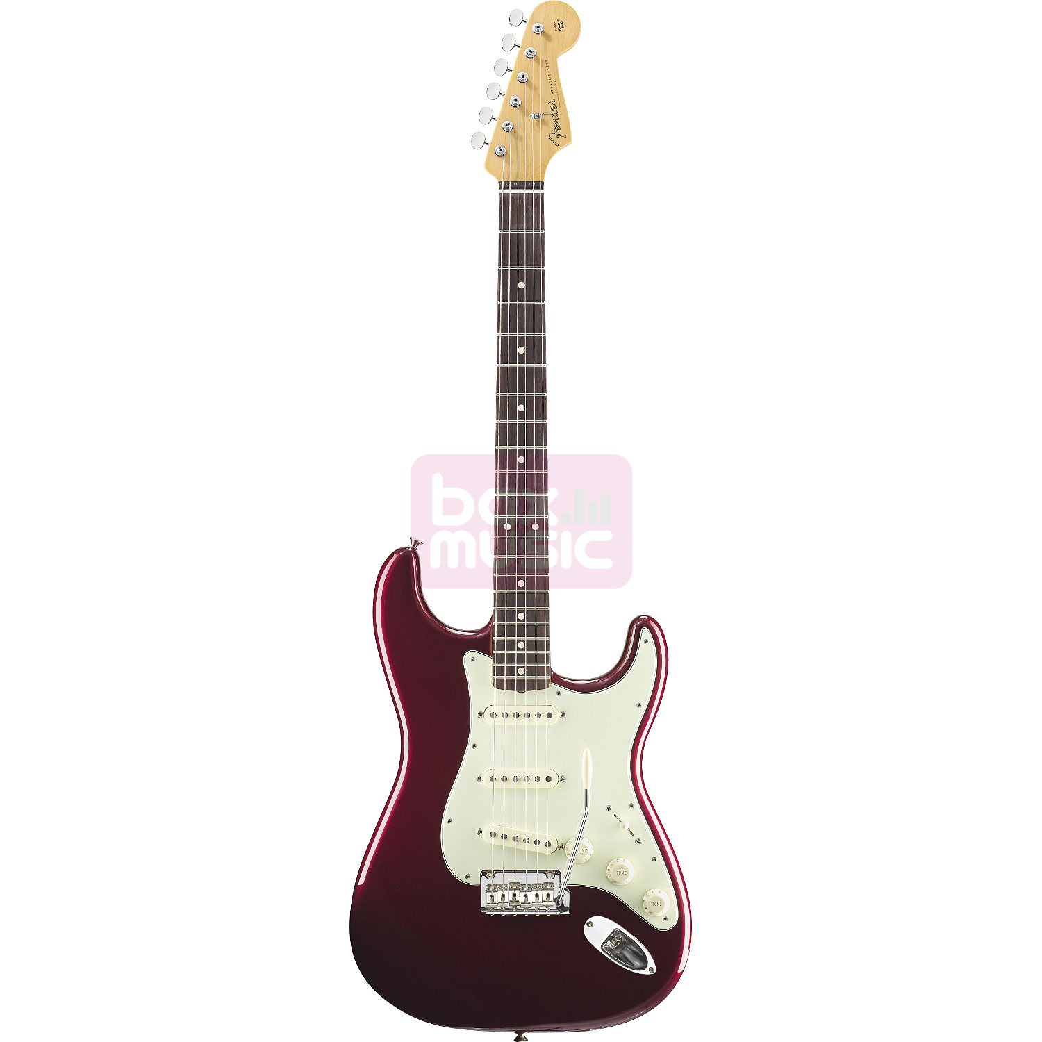 Fender Classic Player 60s Stratocaster Candy Apple Red RW