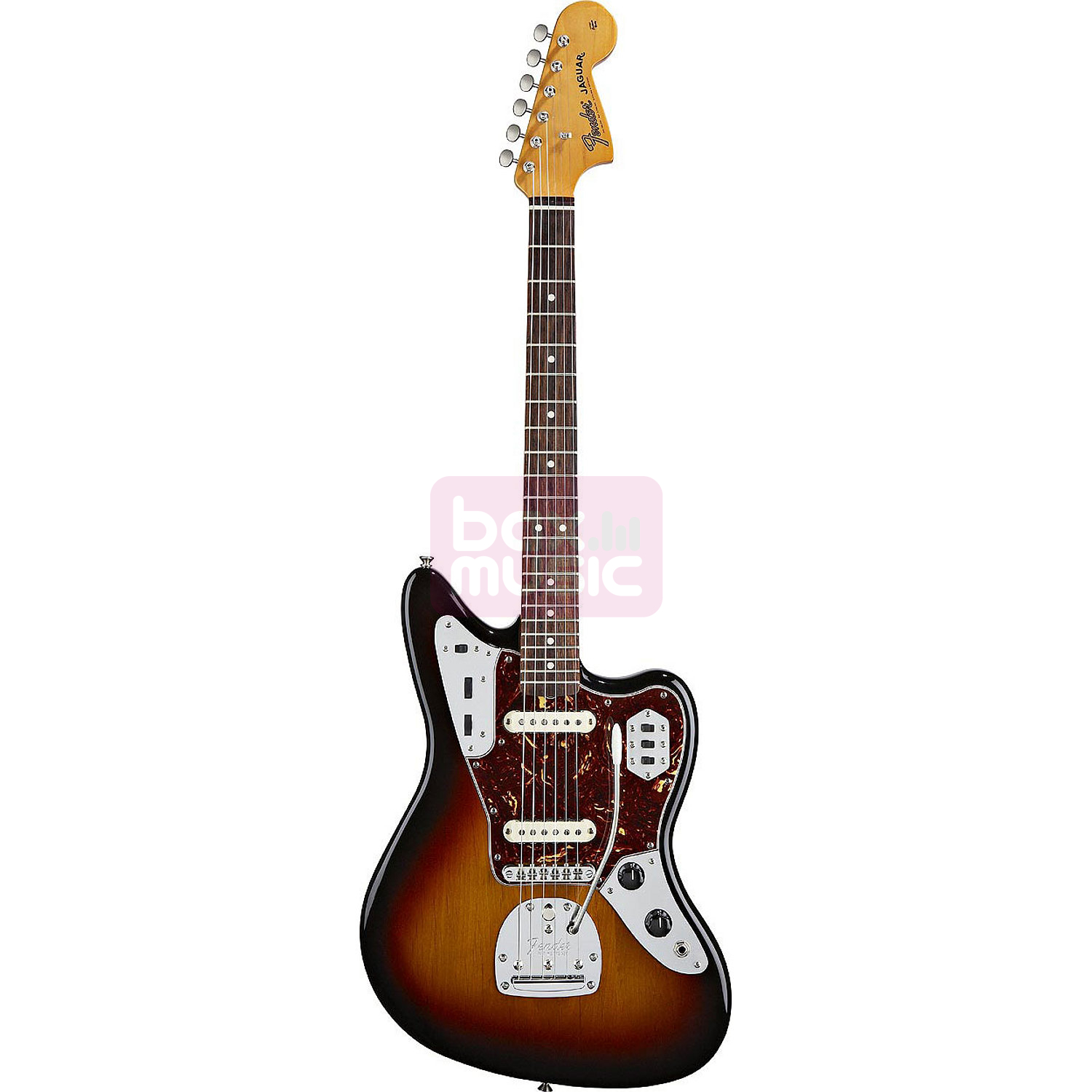 Fender Classic Player Jaguar Special 3-Color Sunburst RW