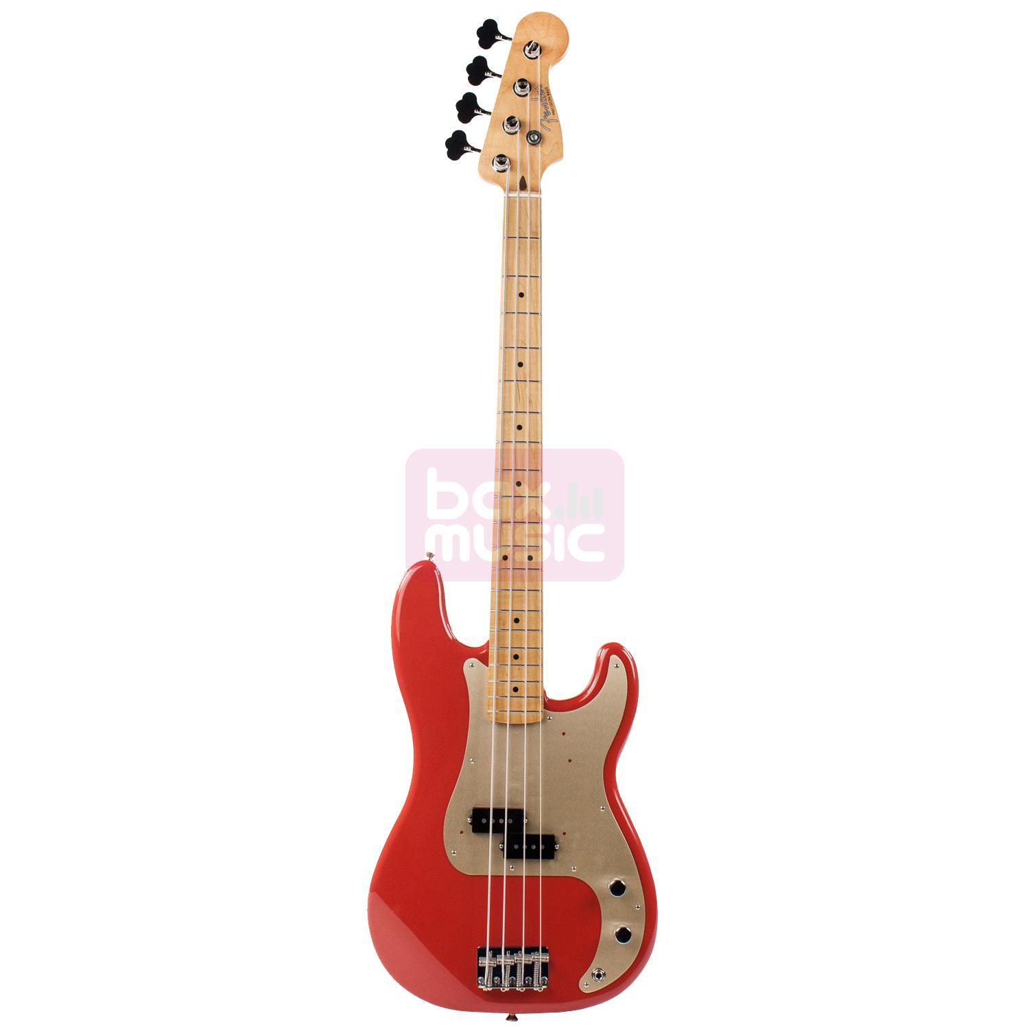 Fender Classic Series 50s Precision Bass Fiesta Red MN