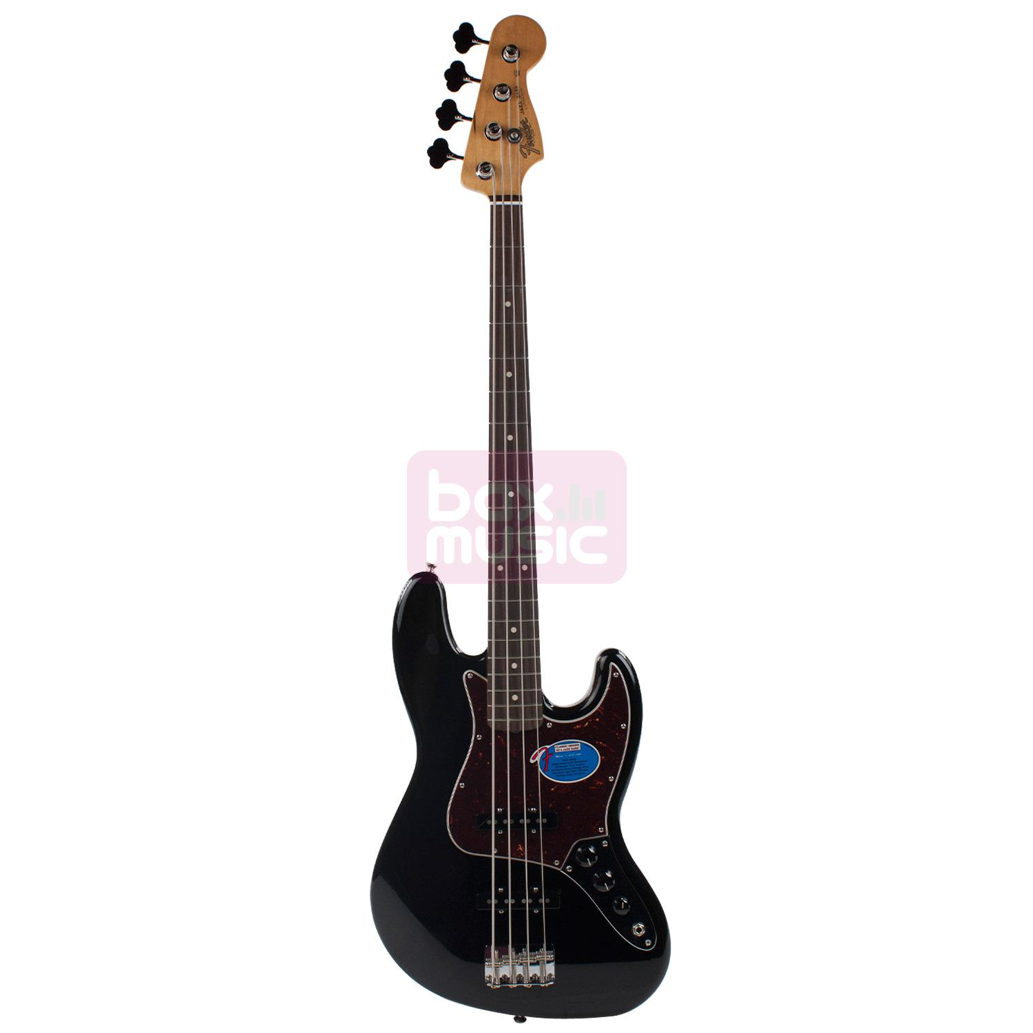 Fender Classic Series 60s Jazz Bass Black RW