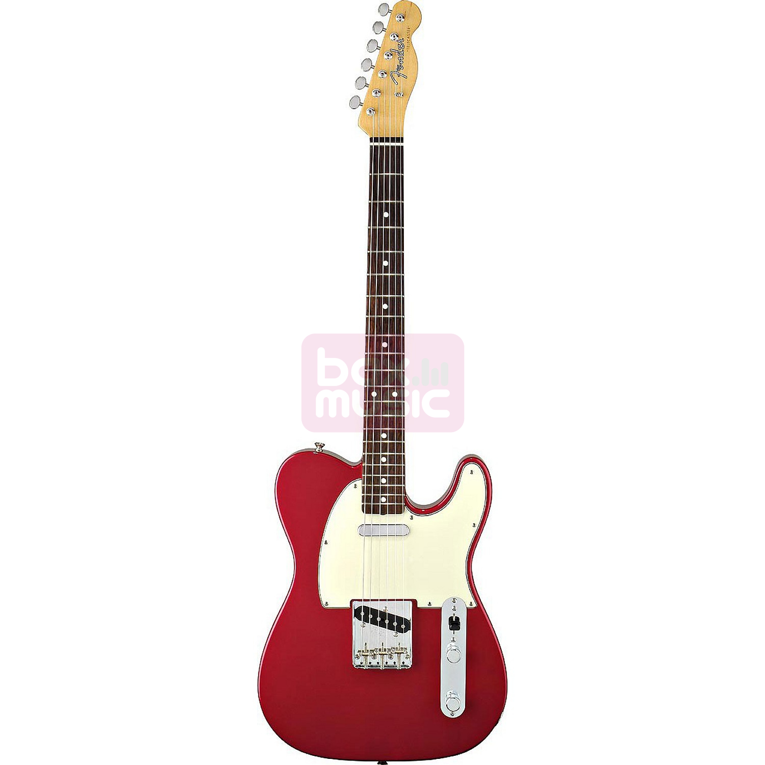 Fender Classic Series 60s Telecaster Candy Apple Red RW