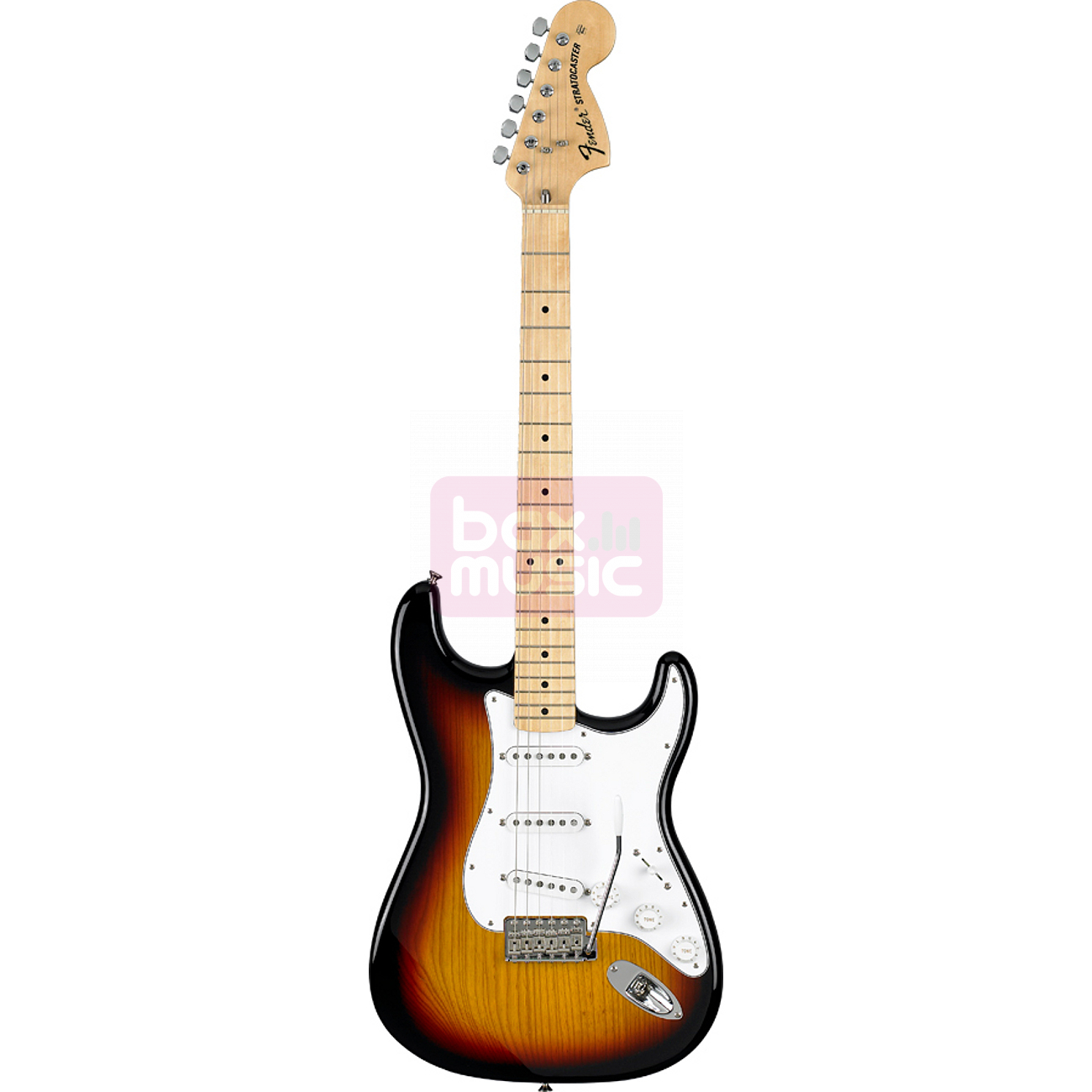Fender Classic Series 70s Stratocaster 3-Color Sunburst MN