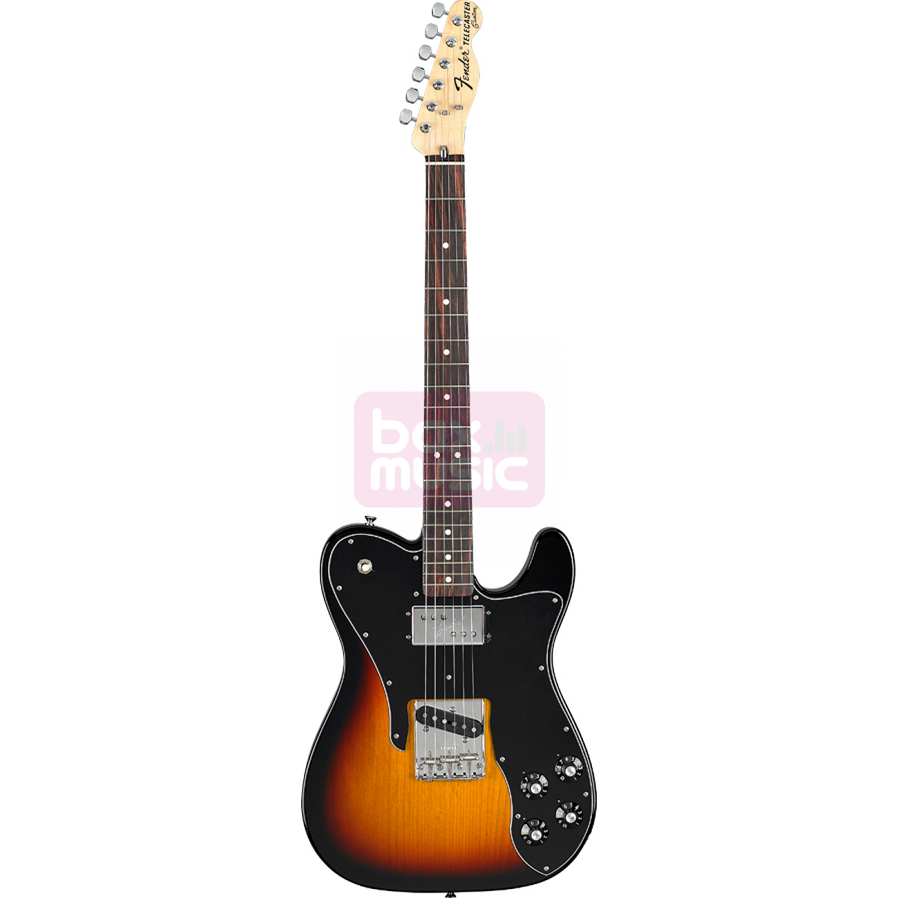 Fender Classic Series 72 Telecaster Custom 3-Color Sunburst RW