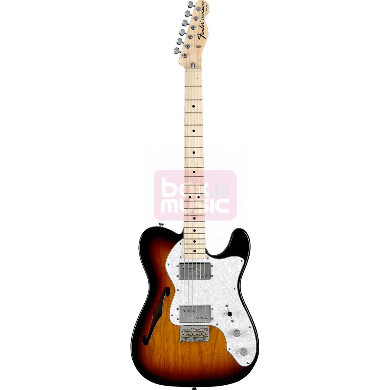 Fender Classic Series 72 Telecaster Thinline 3-Color Sunburst
