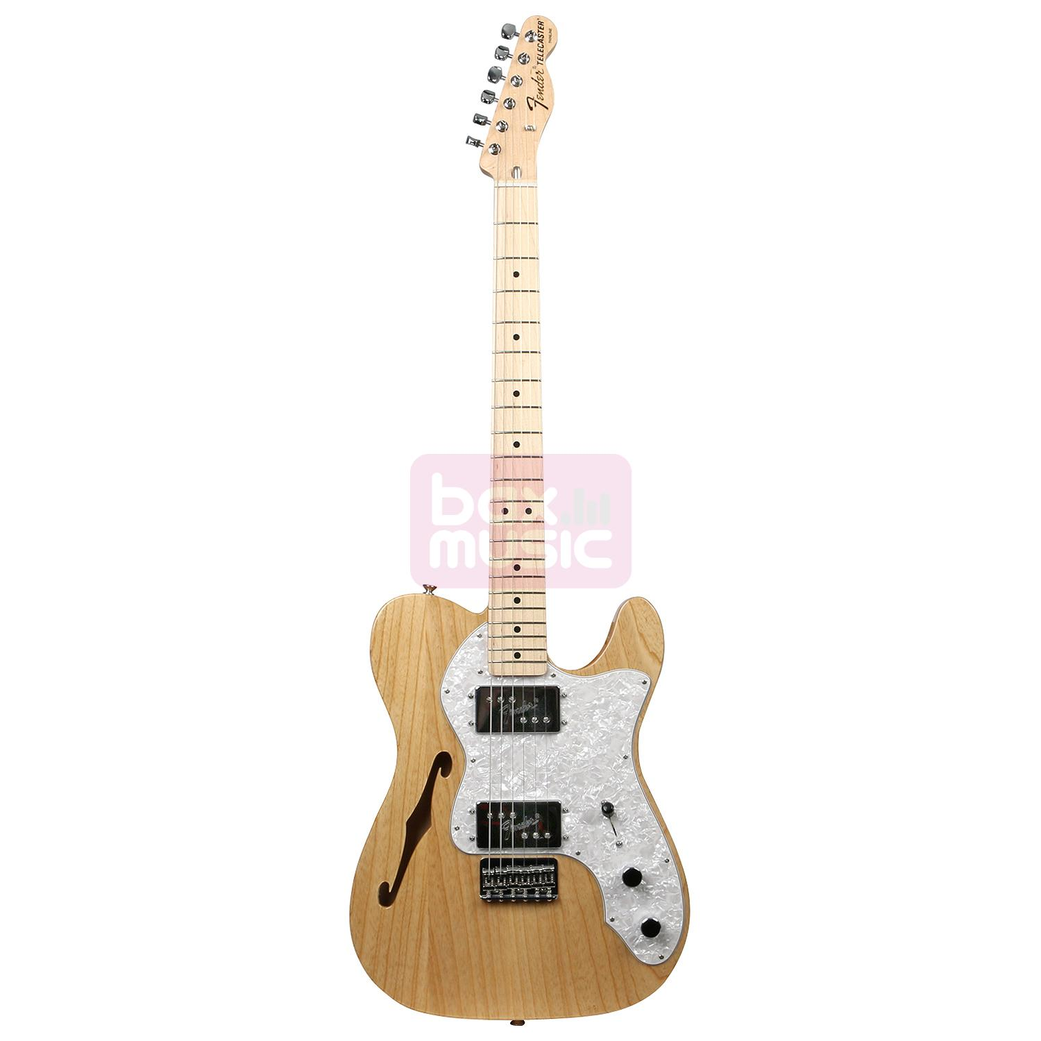 Fender Classic Series 72 Telecaster Thinline Natural MN