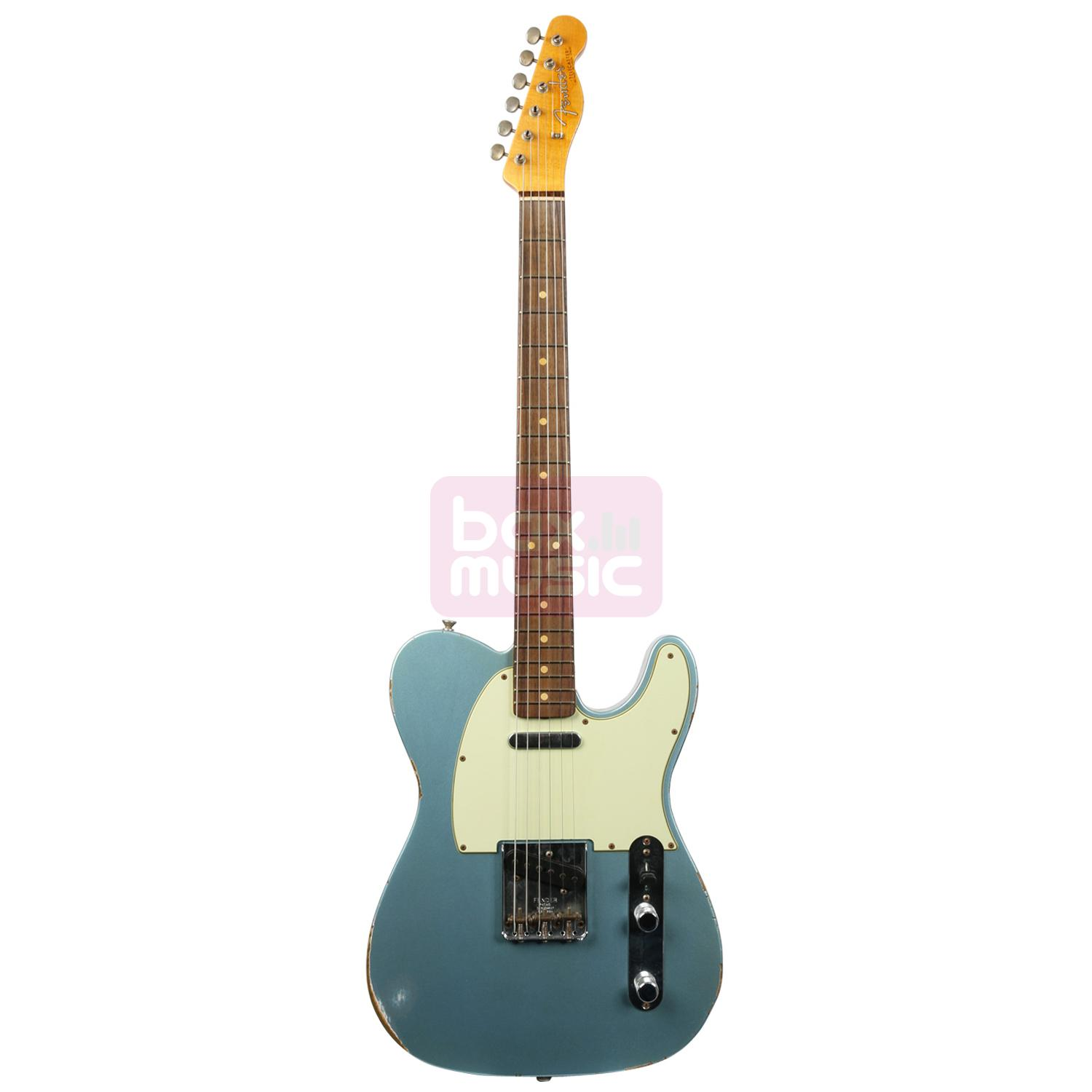 Fender Custom Shop 1963 Relic Telecaster Blue Ice Metallic RW