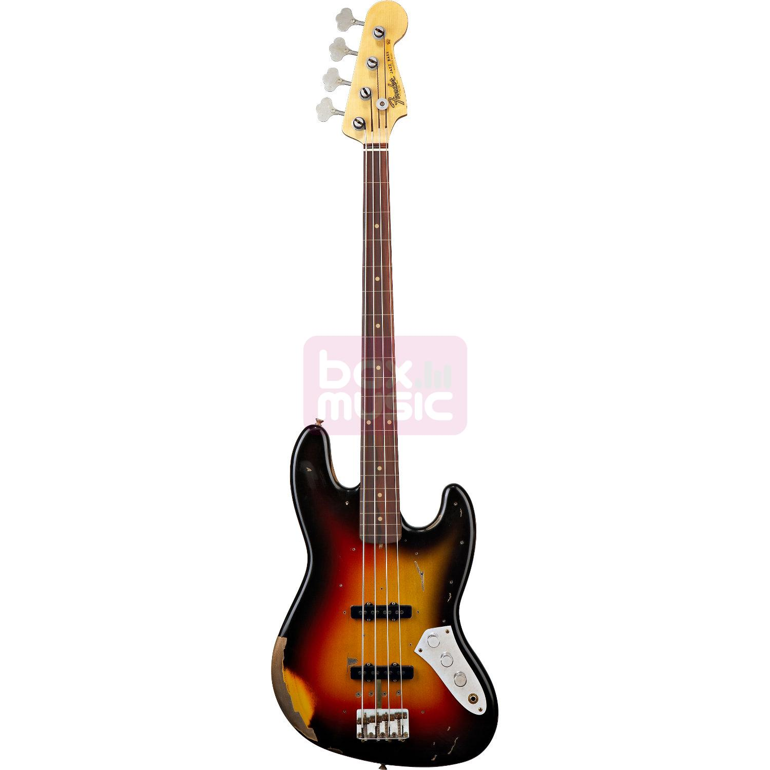 Fender Custom Shop Jaco Pastorius Tribute Fretless Jazz Bass 3CS