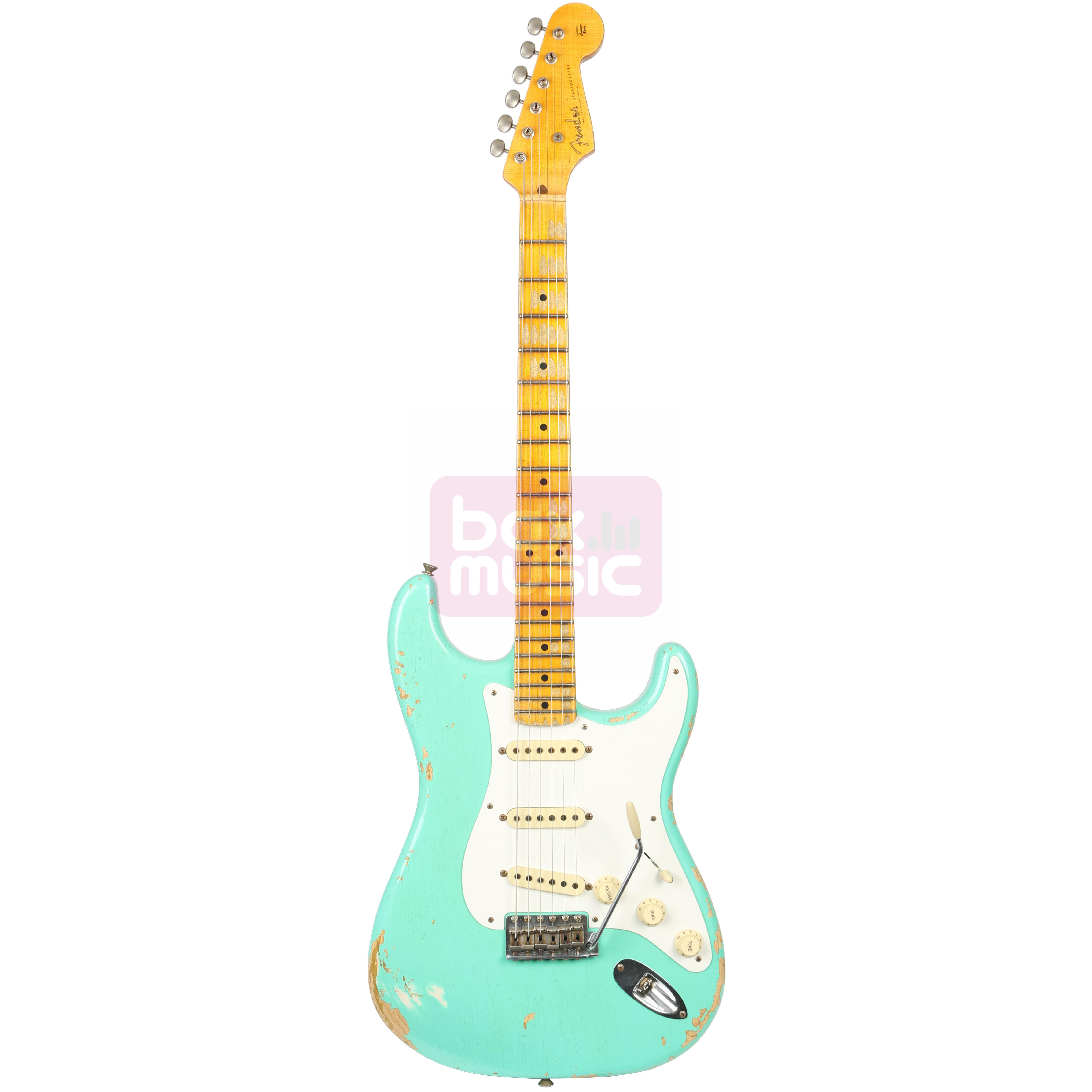 Fender Custom Shop Limited 1956 Relic Strat Faded Foam Green