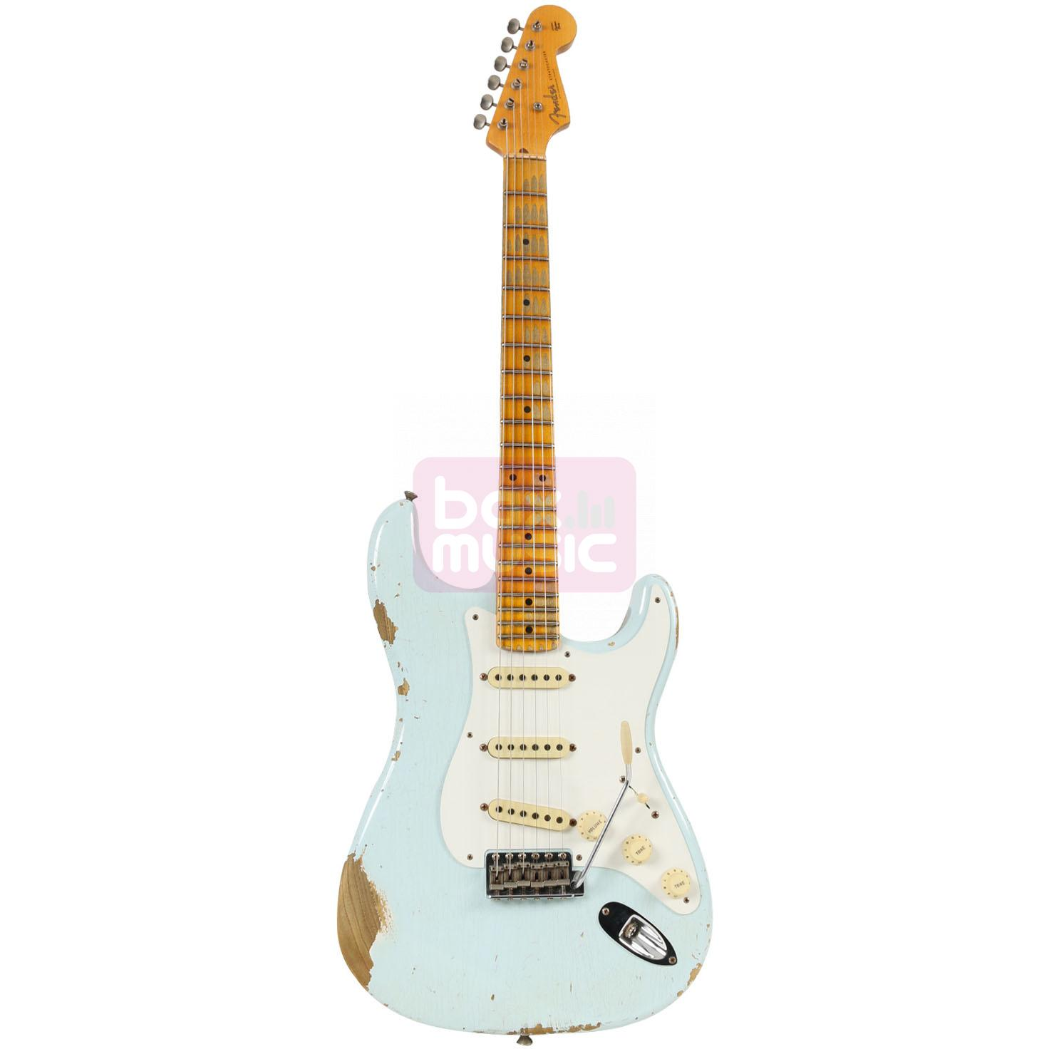 Fender Custom Shop Limited 1956 Relic Strat Faded Sonic Blue