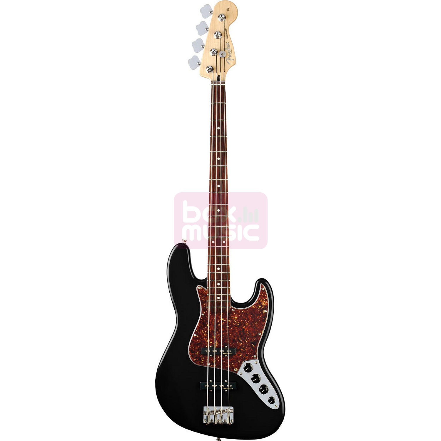 Fender Deluxe Active Jazz Bass Black RW