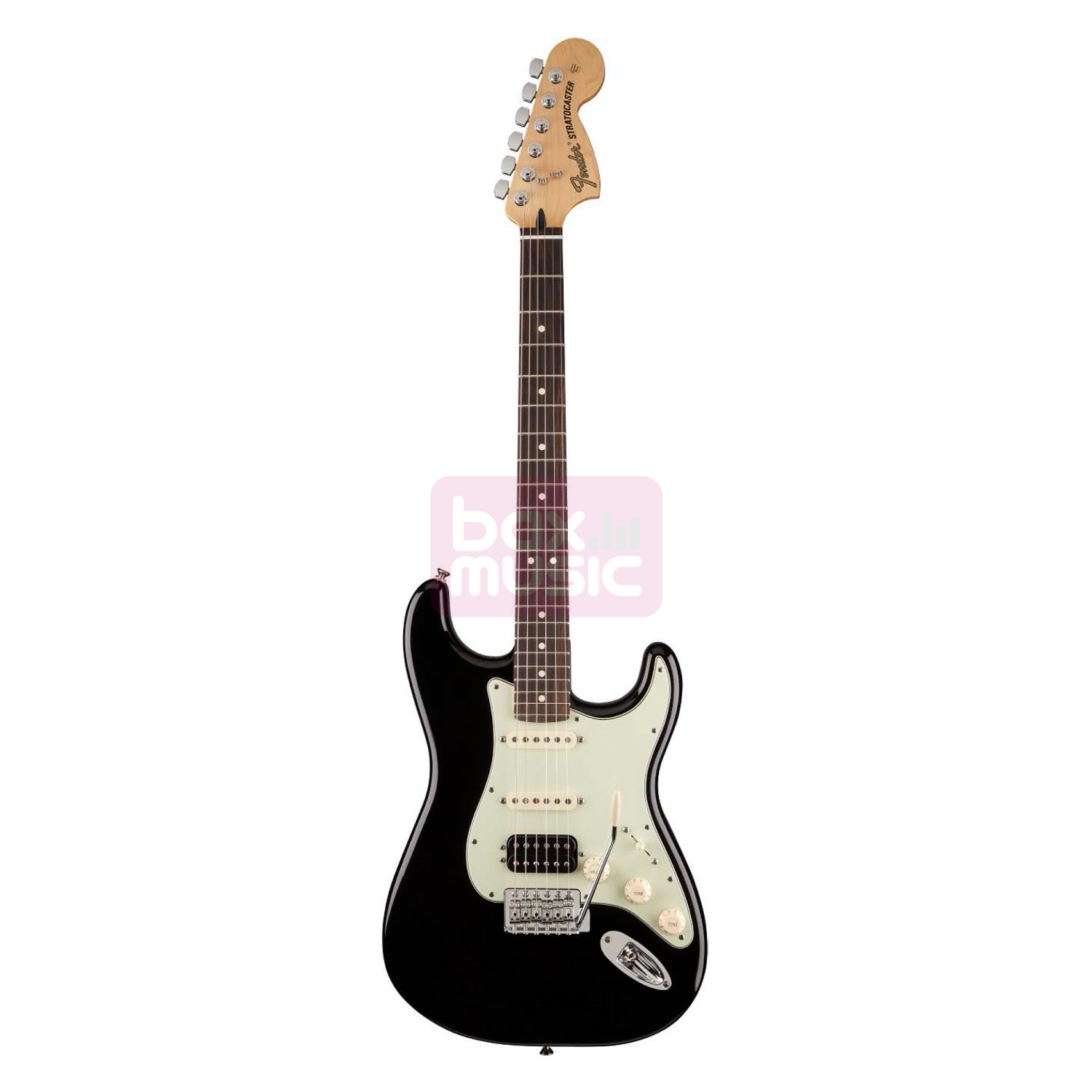 Fender Deluxe Lone Star Stratocaster Black RW 2013