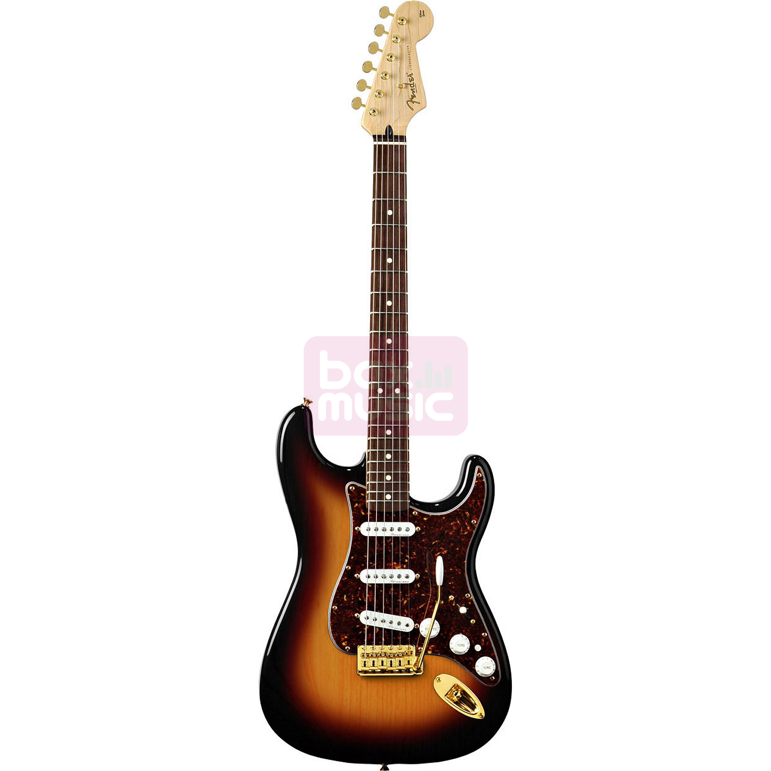 Fender Deluxe Players Strat 3-Color Sunburst RW