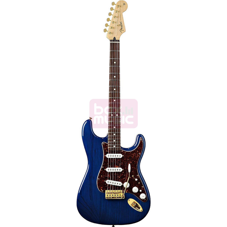 Fender Deluxe Players Strat Saphire Blue Transparent RW