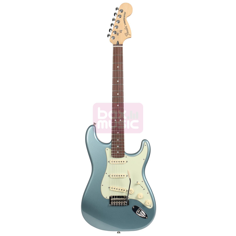 Fender Deluxe Roadhouse Strat Mystic Ice Blue RW