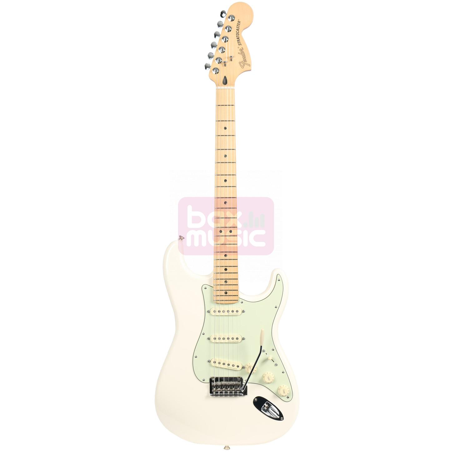 Fender Deluxe Roadhouse Stratocaster Olympic White MN