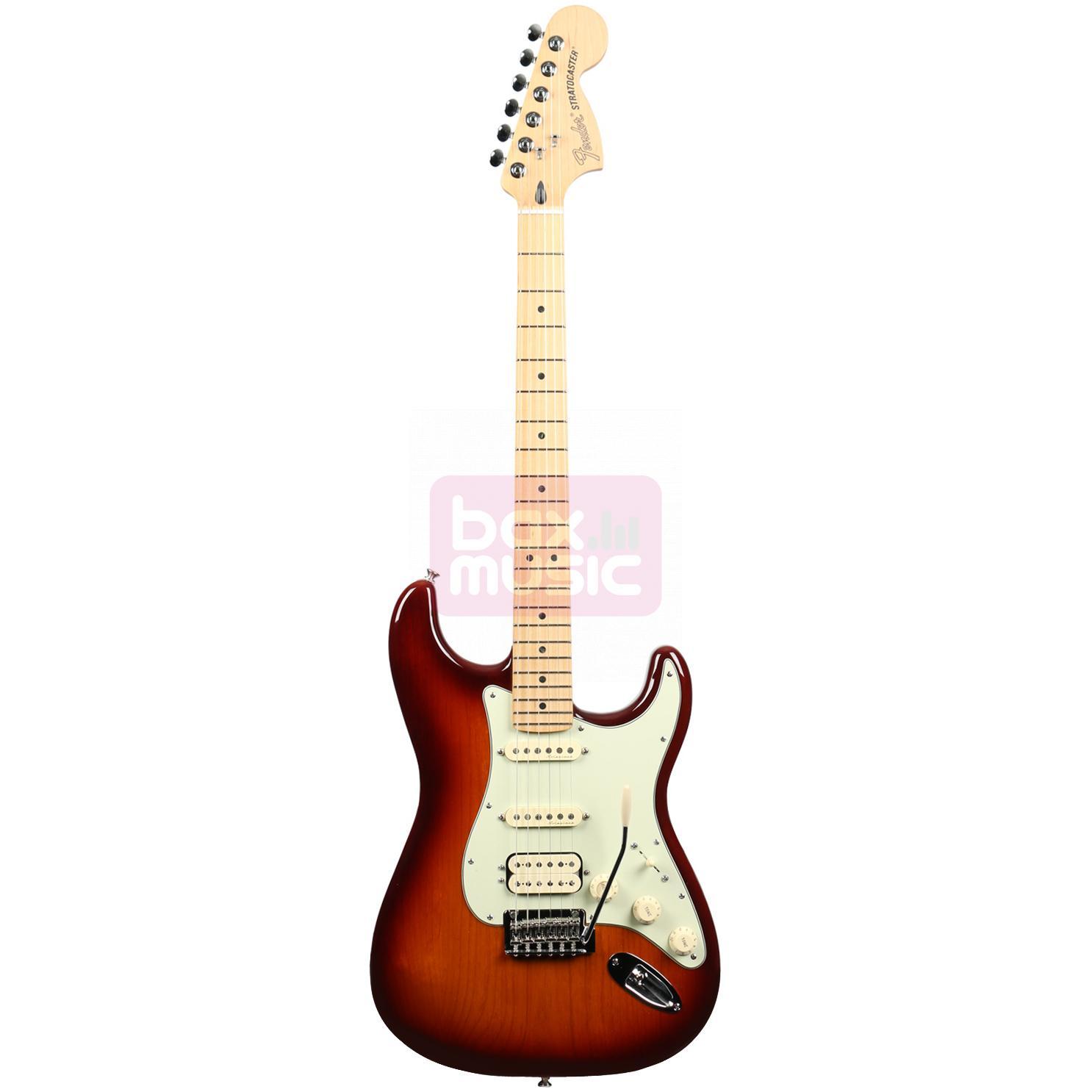 Fender Deluxe Strat HSS Tobacco Sunburst MN