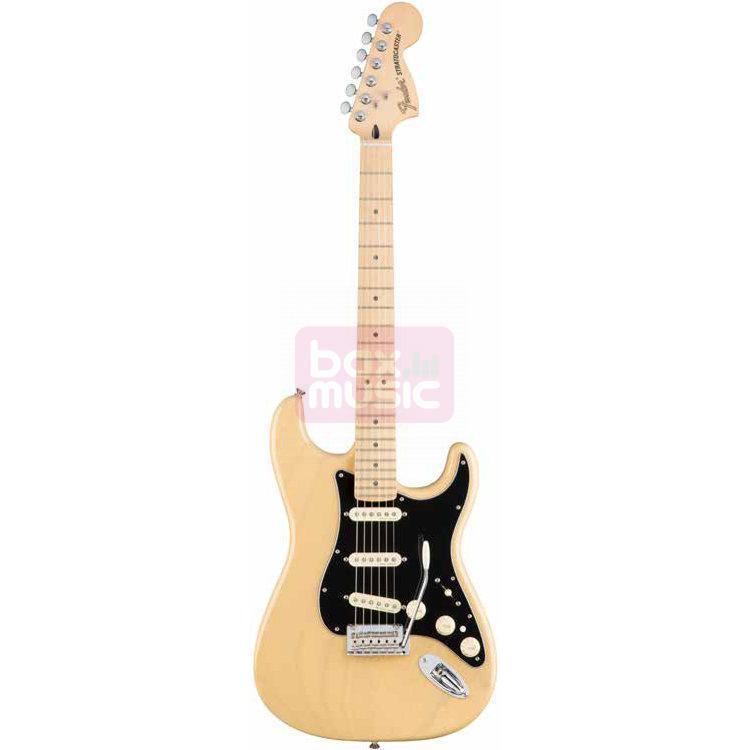 Fender Deluxe Stratocaster Vintage Blonde met gigbag