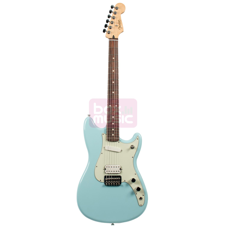 Fender Duo-Sonic HS Daphne Blue RW elektrische gitaar