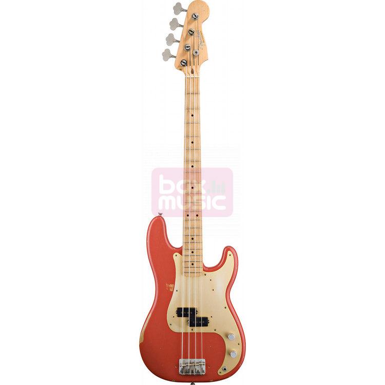 Fender Road Worn 50s Precision Bass Fiesta Red MN