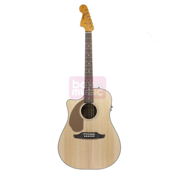 Fender Sonoran SCE Natural v2 LH linkshandige el.-ak. gitaar