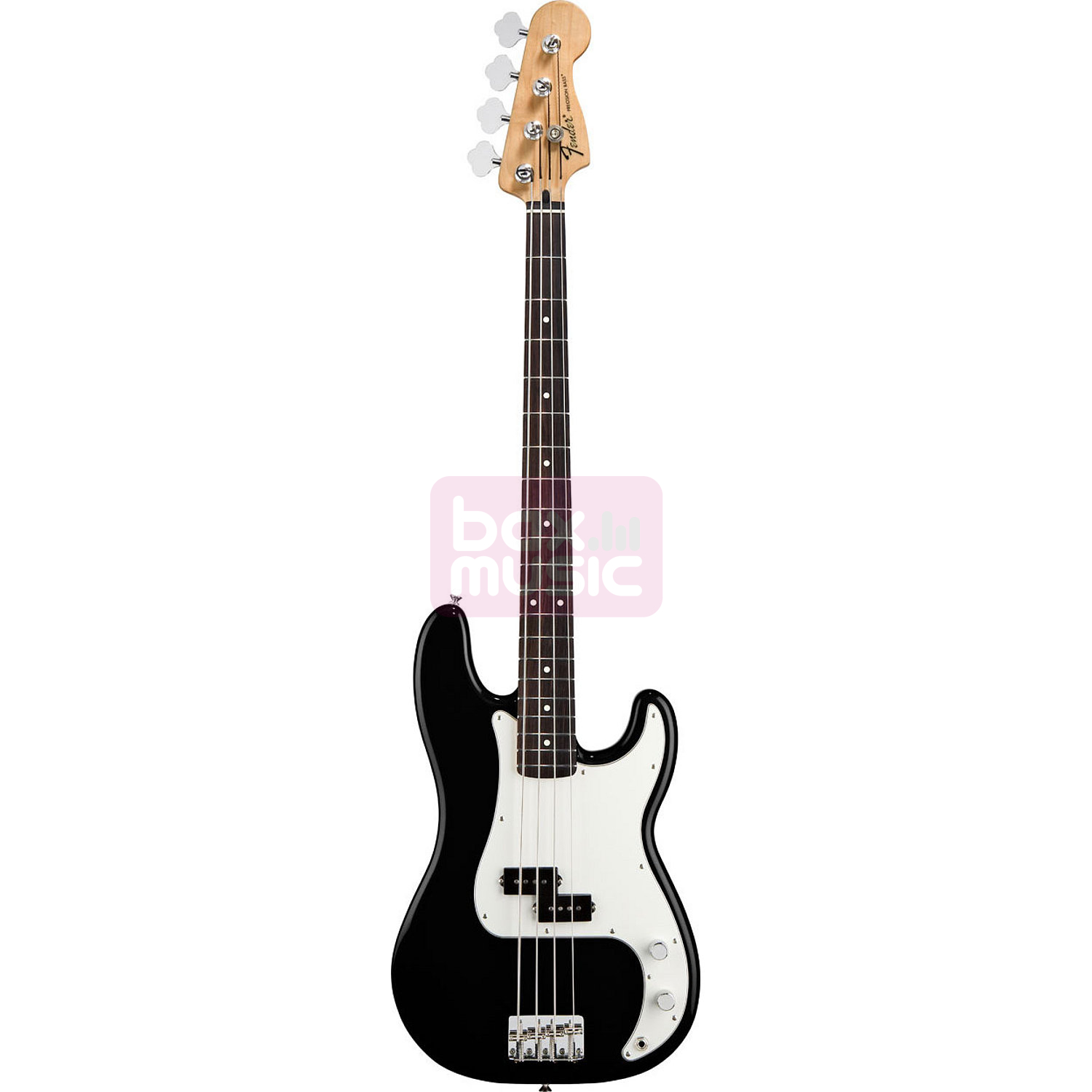 Fender Standard Precision Bass Black RW