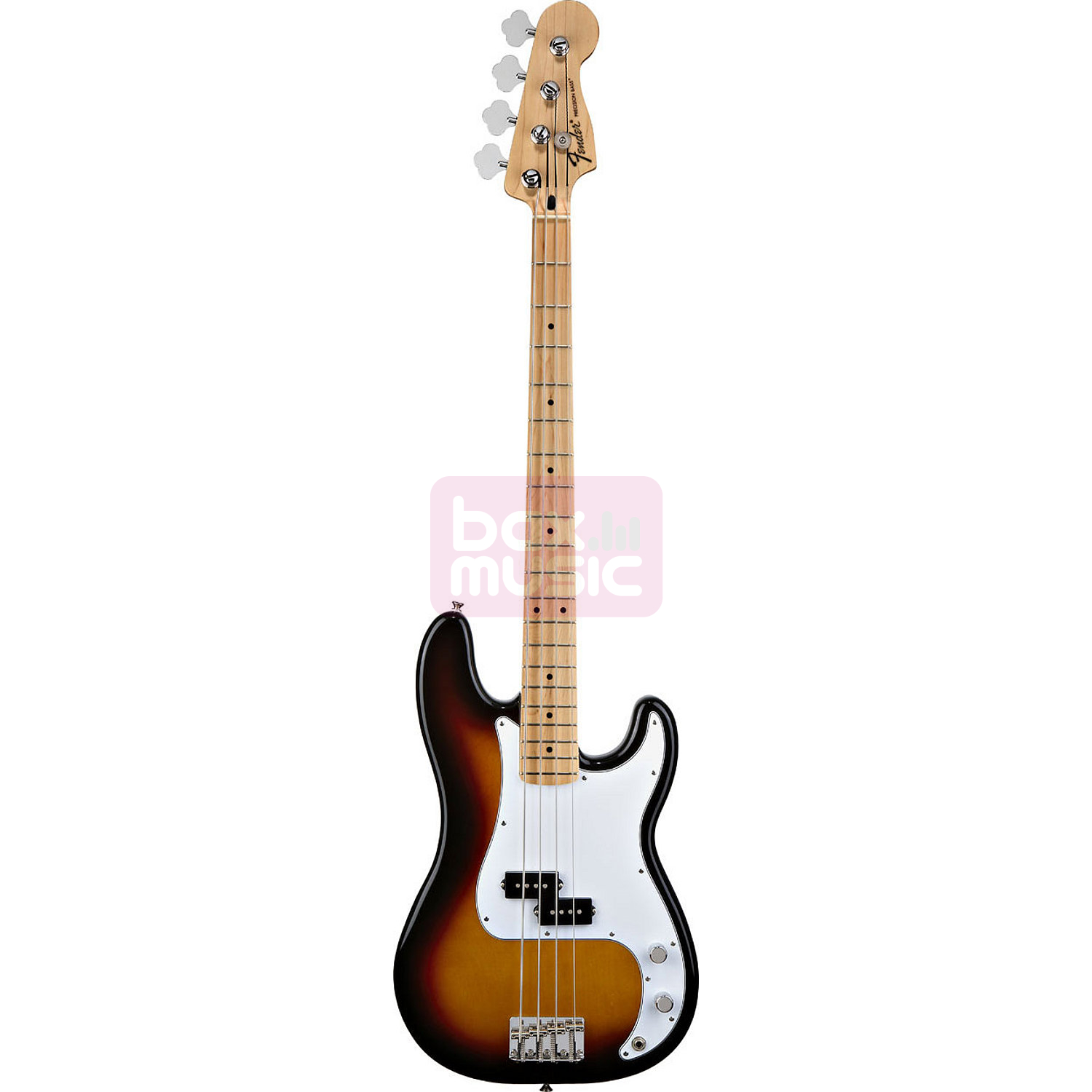 Fender Standard Precision Bass Brown Sunburst MN