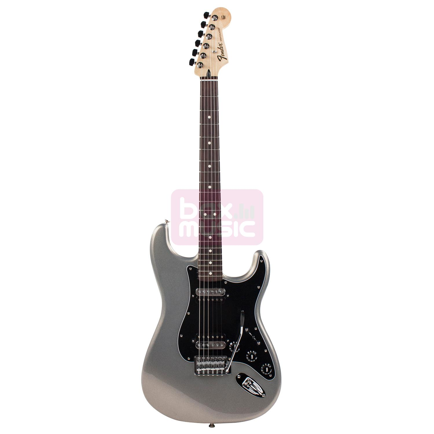Fender Standard Stratocaster HH RW Ghost Silver