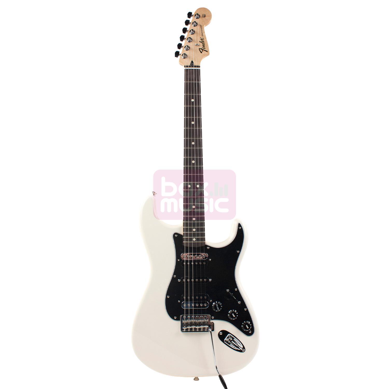 Fender Standard Stratocaster HSH RW Olympic White