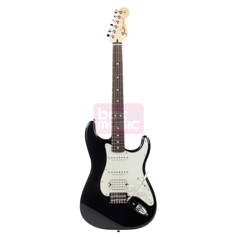 Fender Standard Stratocaster HSS Black RW