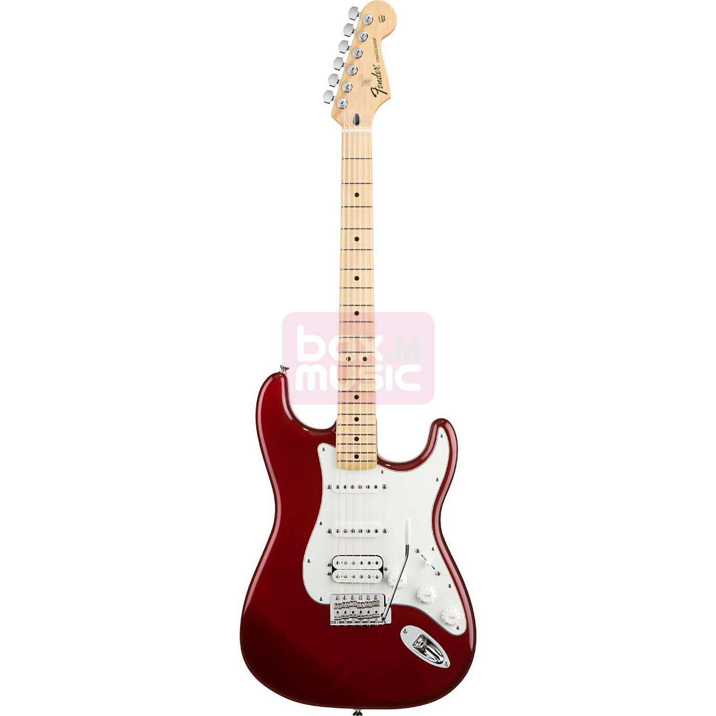 Fender Standard Stratocaster HSS Candy Apple Red MN