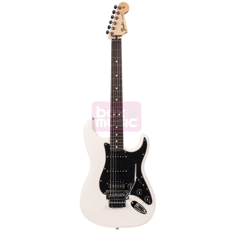 Fender Standard Stratocaster HSS Floyd RW Olympic White