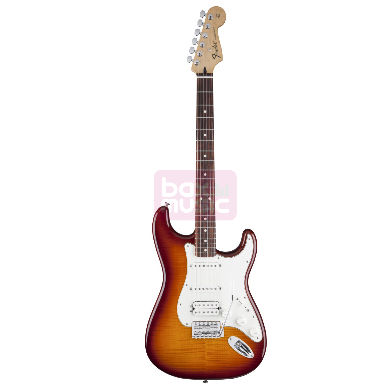 Fender Standard Stratocaster HSS Plus Top RW Tobacco Sunburst