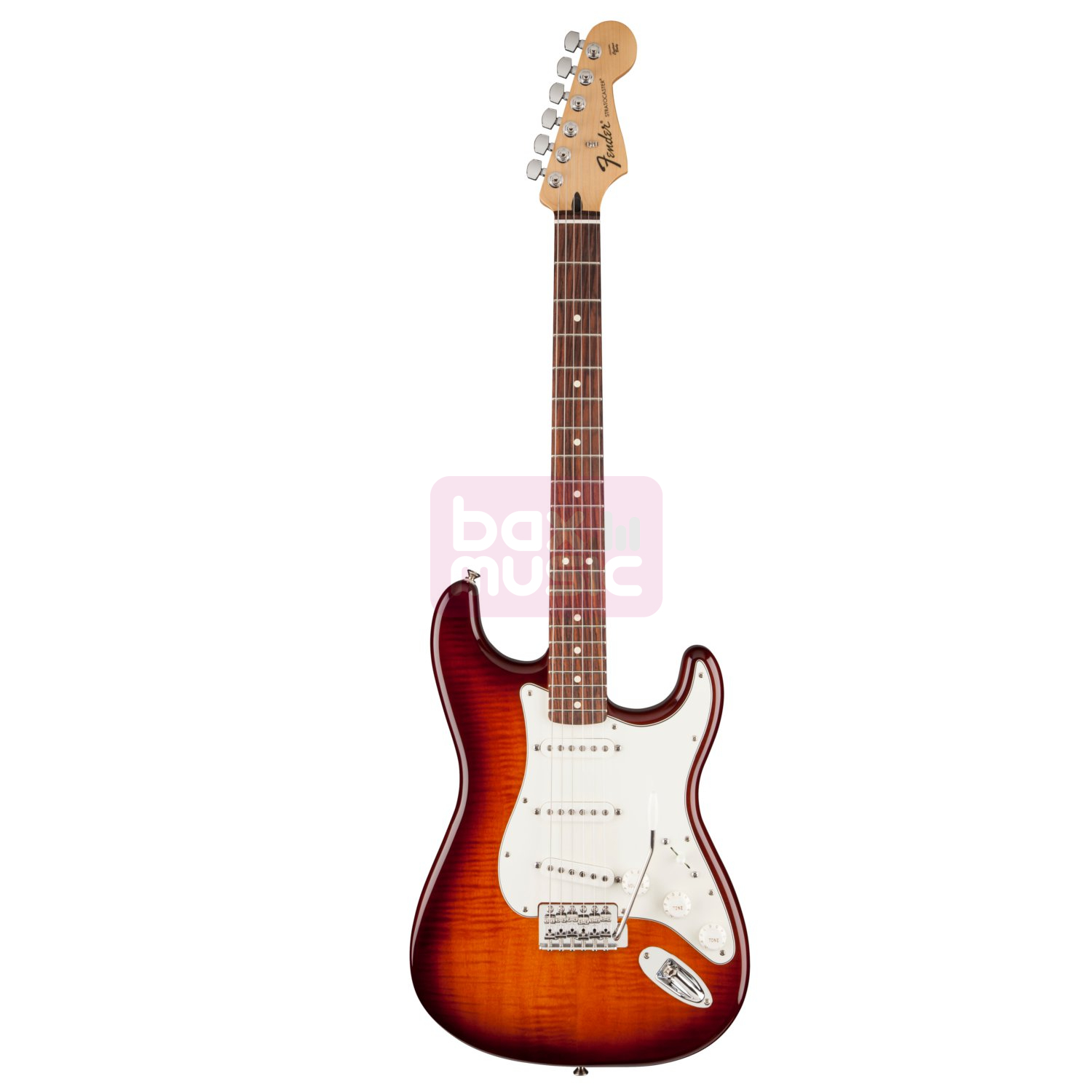 Fender Standard Stratocaster Plus Top RW Tobacco Sunburst