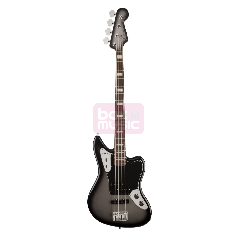 Fender Troy Sanders Jaguar Bass Silverburst RW