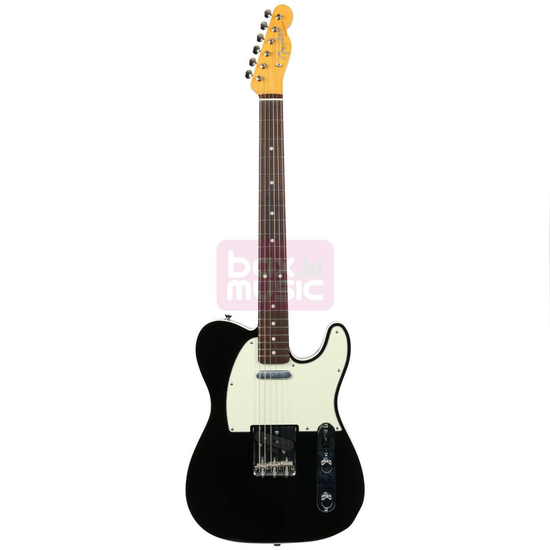 Fender Vintage 62 Telecaster Bound Edge Black RW