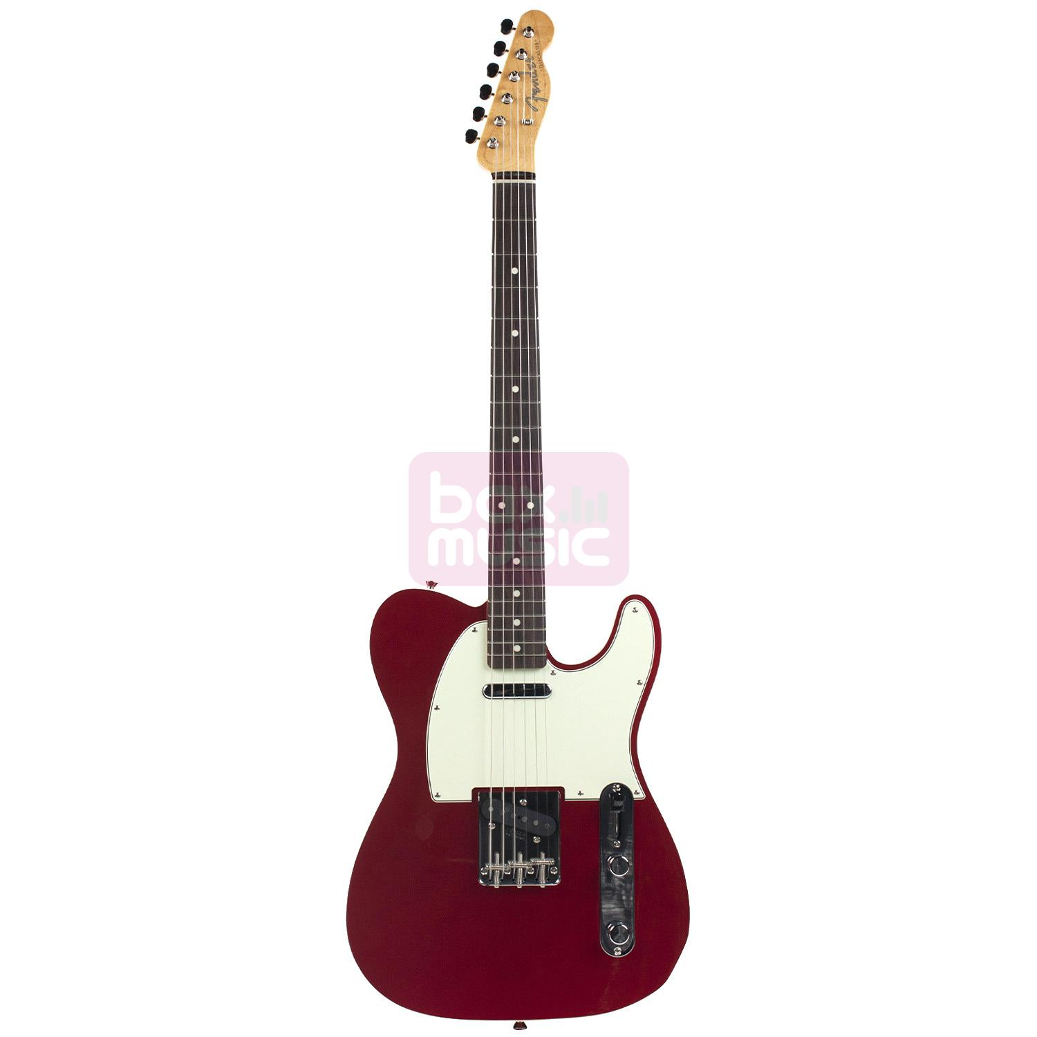 Fender Vintage 62 Telecaster Bound Edges Candy Apple Red RW