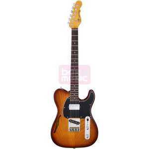 G&L Tribute ASAT Classic Bluesboy Semi-Hollow Tobacco Sunburst