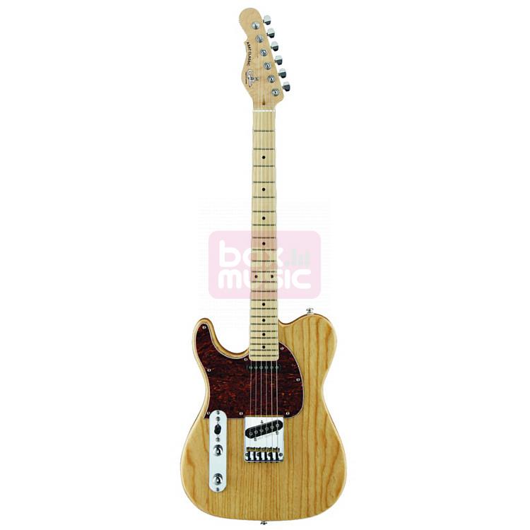G&L Tribute ASAT Classic linkshandige elektrische gitaar naturel