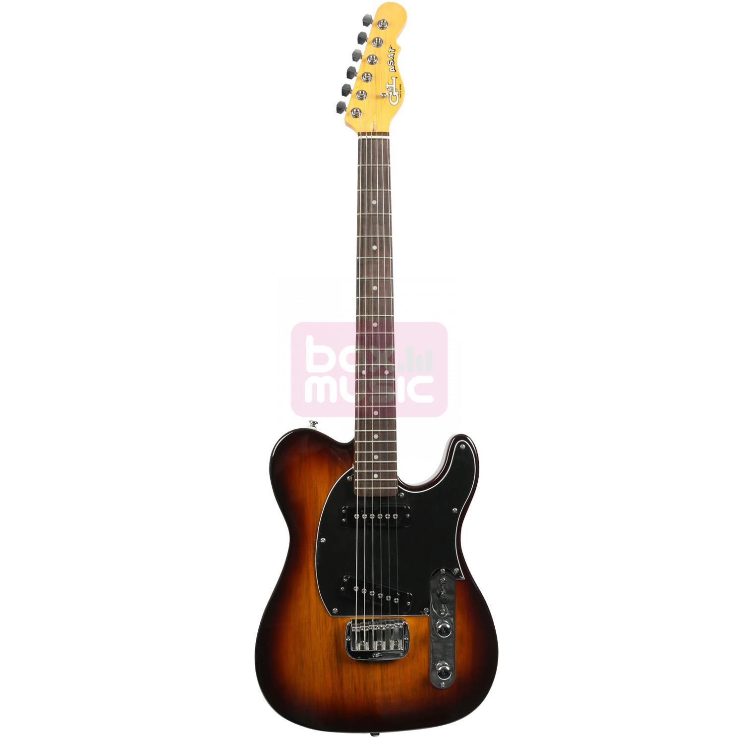 G&L Tribute ASAT Special elektrische gitaar Tobacco Sunburst