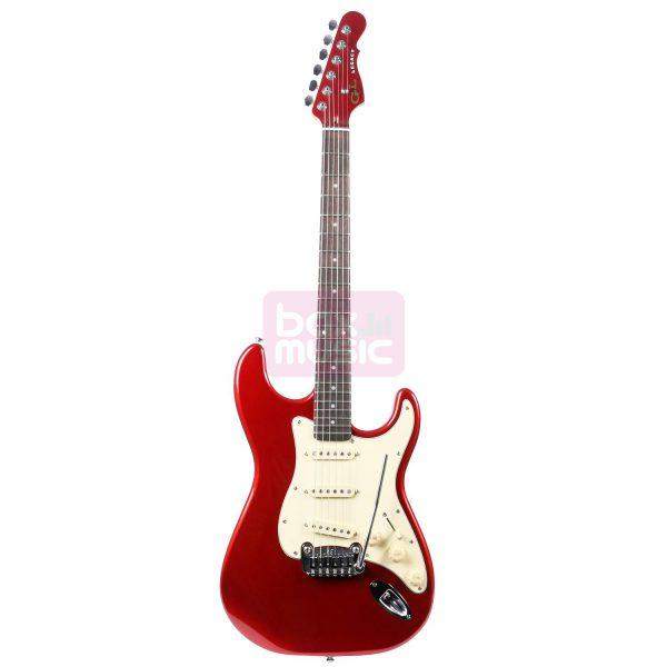 G&L Tribute Legacy elektrische gitaar Candy Apple Red
