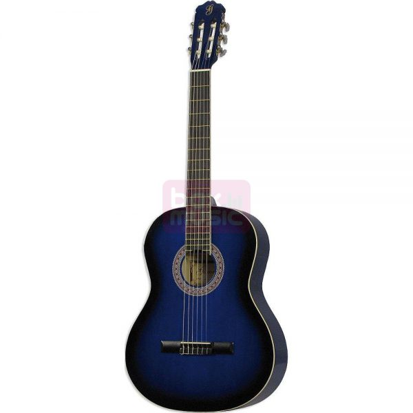 Gomez 001 4/4-model klassieke gitaar blue sunburst