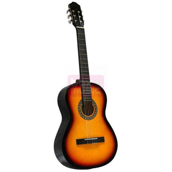 Gomez 001 4/4-model klassieke gitaar vintage sunburst