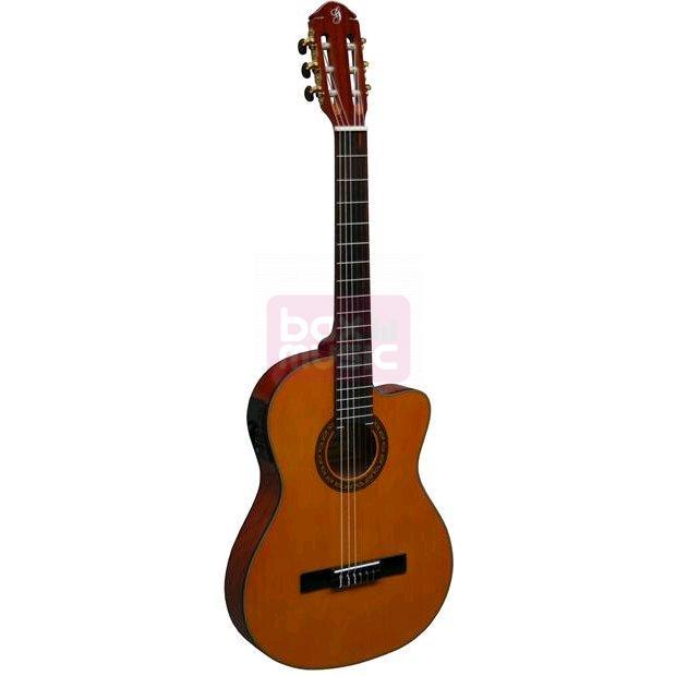 Gomez 004-CE Thinline elektrisch-akoestische klassieke gitaar